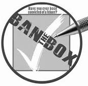 BAN THE bOX GRAPHIC
