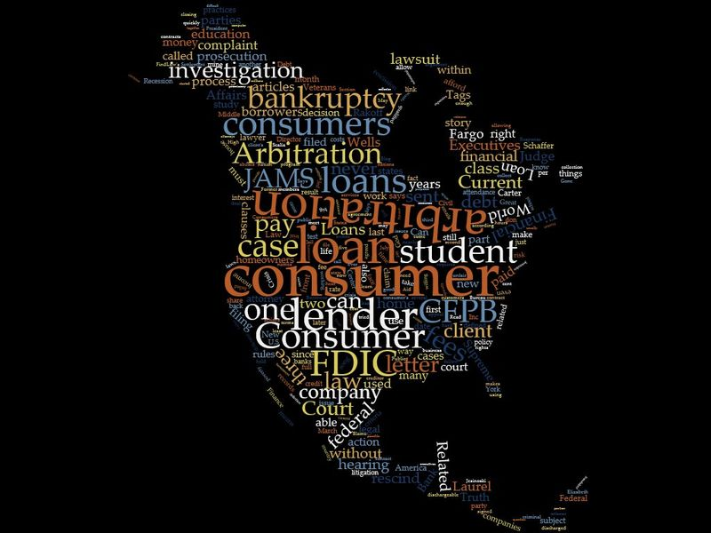 Anatomy of a Consumer Arbitration Mississippi Storefront Lender wordcloud (1)wordcloud (1)